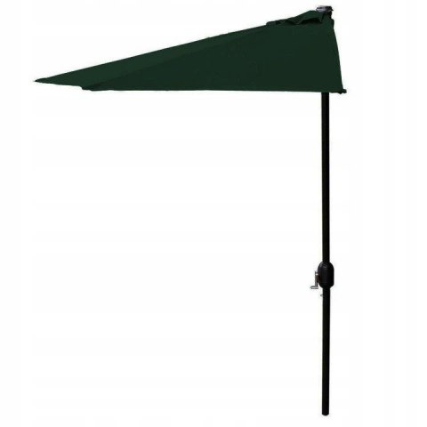 Pół Parasol Ogrodowy Składany Na Taras Balkon 270